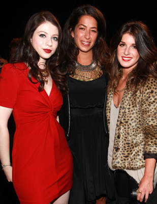 Rebecca Minkoff, designer, Michelle Trachtenberg, actress (Buffy alum and Gossip Girl), Shenae Grimes, actress (90210)