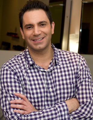 Kevin Gatto, co-owner and lead stylist of Verde Salon