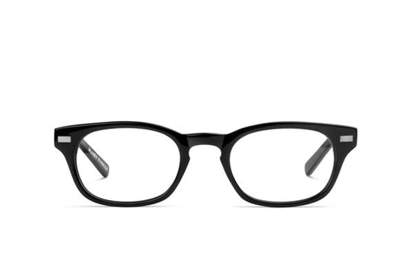 Warby Parker Miles glasses in revolver black