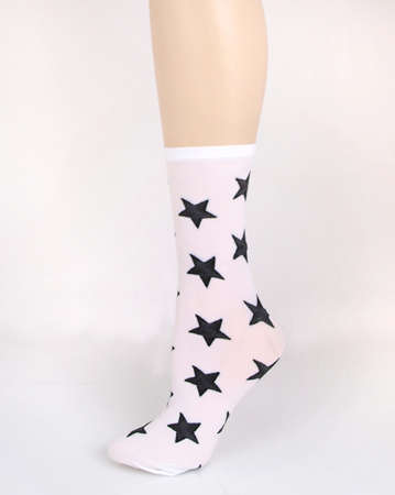 Star Print Socks