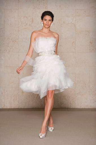 Look 12 from Oscar de la Renta Bridal