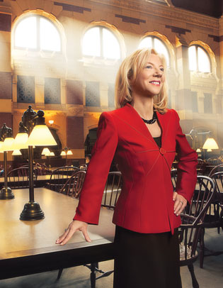 8:  Amy Gutmann, institutional