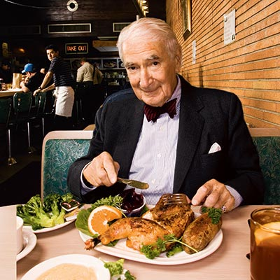 Ralph Roberts  photographed on  October 24th, 2005,  at Little Pete's in  Center City. Photograph by Bill Cramer