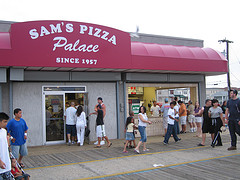 Sam's Pizza In Wildwood
