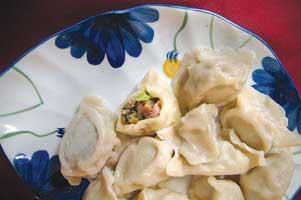 Dumplings Chung King Garden