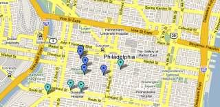 Craig LaBan Burger Map