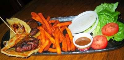 Baby Bombay Burgers at Mantra