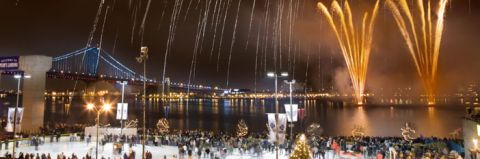 Penns Landing On New Year's Eve