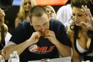 Joey Chestnut Wins Wing Bowl 16