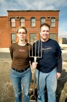 Bill and Nancy of Philadelphia Brewing Co.