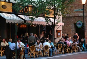 Dining Outside At Rouge