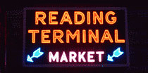 Reading Terminal Market Neon Sign