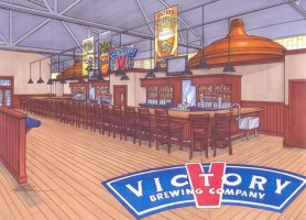 New Bar at Victory Brewing Co.