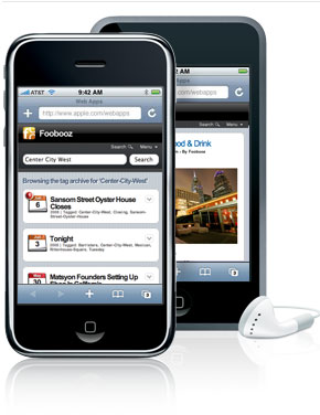 Foobooz iPhone Edition