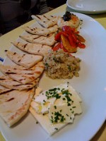Meze Plate at Teplitzky's
