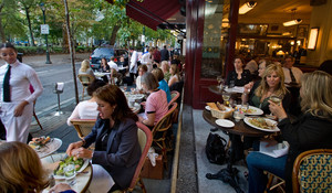 Outdoor Seating at Parc