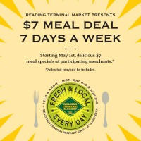 $7 Meal Deal 7 Days a Week at Reading Terminal Market