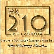 Bar 210 at Lacroix