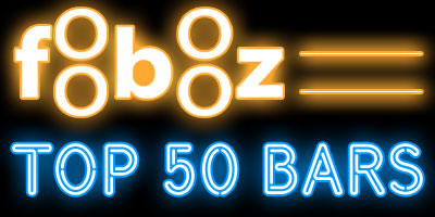 Foobooz Top 50 Bars