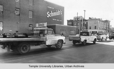 Schmidt's Brewery, 1974 - Courtesy of Temple University, Urban Archives