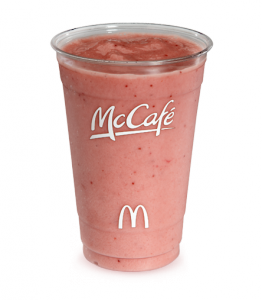 McDonald's also offers small, medium or large sizes of the blueberry pomegranate smoothie. There are calories in the ounce, calories in a ounce and calories in the ounce large giveback.cfd: Jun 17,