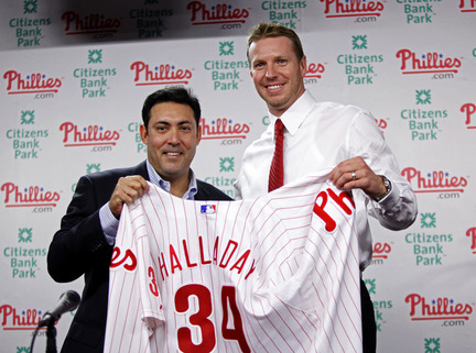 Roy Halladay, Ruben Amaro Jr.