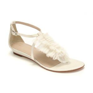 Rowena White Bridal Sandal By Loeffler Randall