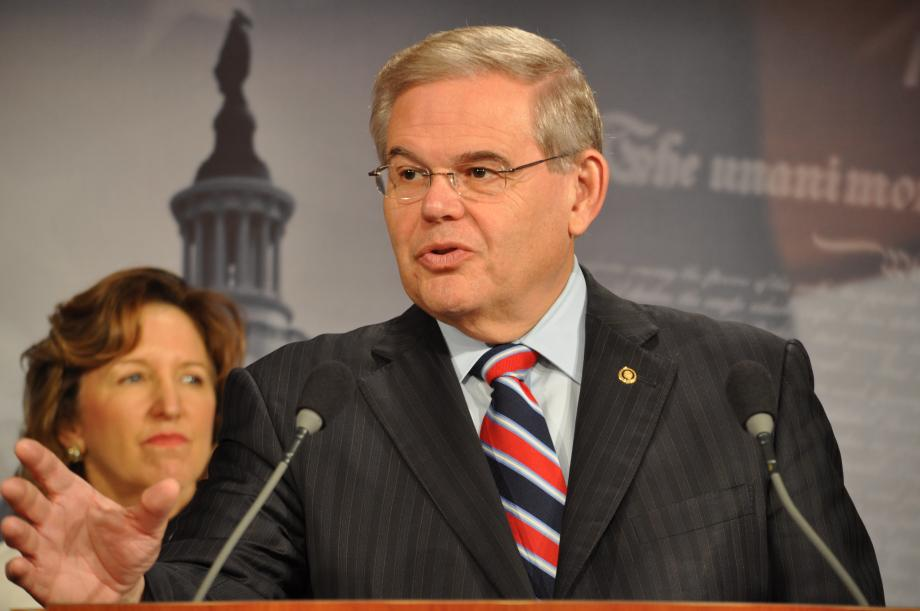 Courtesy of the Office of Sen. Menendez