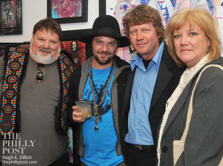 Family photo of the tv-personality, married to April Margera, famous for Jackass & Celebrity Fit Club.