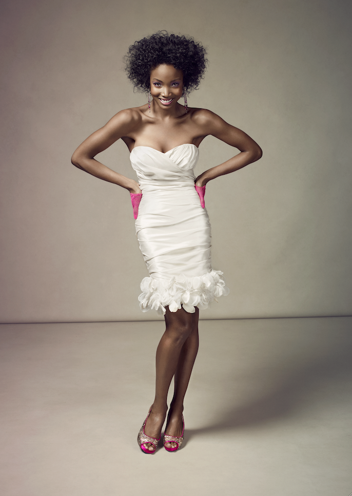 Fun & Flirty Short Wedding Dresses