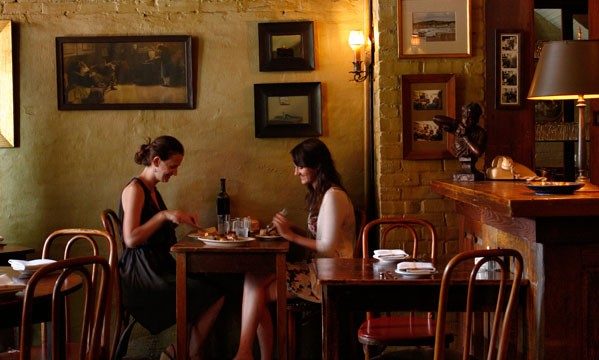 Best Italian Restaurants in Philadelphia: Dining room at Mr. Martino's Trattoria