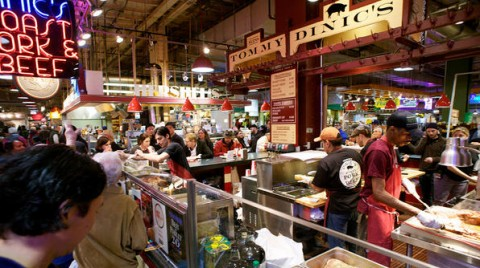 Dinic S Up For Best Sandwich In America Philadelphia Magazine Where To Eat Reading Terminal Market