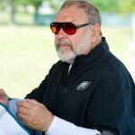 Philadelphia Eagles offensive line coach Howard Mudd
