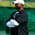Philadelphia Eagles secondary coach Todd Bowles.