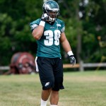 Philadelphia Eagles fullback Stanley Havili