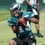 Philadelphia Eagles rookie Damaris Johnson