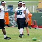 Philadelphia Eagles defensive end Darryl Tapp