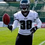 Philadelphia Eagles rookie cornerback Cliff Harris
