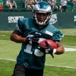 Philadelphia Eagles undrafted free agent Damaris Johnson.