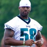 Philadelphia Eagles defensive end Trent Cole