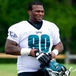 Philadelphia Eagles defensive tackle Antonio Dixon.