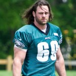 Philadelphia Eagles left guard Evan Mathis.