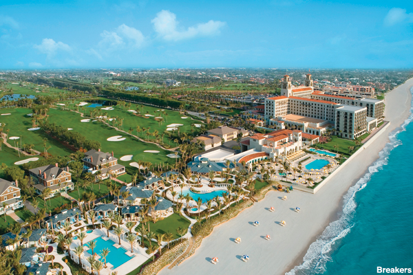 Breakers Hotel in Palm Beach Florida
