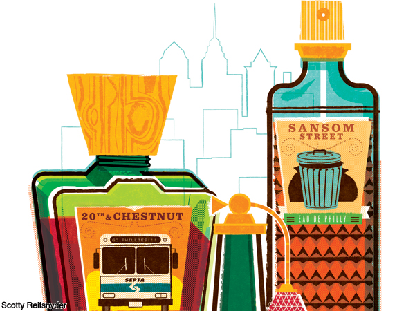 Eau de Philly: what makes Philly smell?