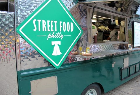 What A Twitterless Food Truck Street Philly Hits The Grid