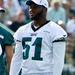 Philadelphia Eagles linebacker Jamar Chaney