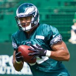 Philadelphia Eagles TE Clay Harbor.