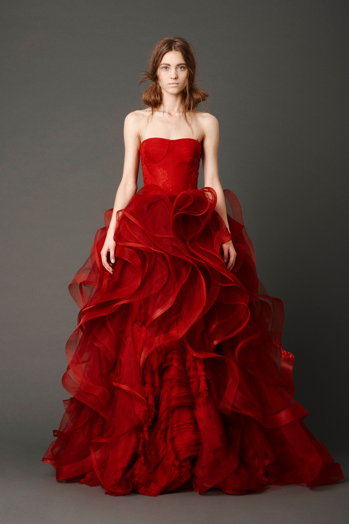 e5416c358571a Vera Wang On Her Wedding Gowns, Inspirations and Success | Bridal ...