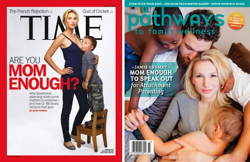 TIME's Breastfeeding Cover Mom Is At It Again | Be Well Philly