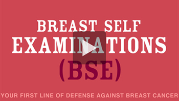 Breast bse examination self video